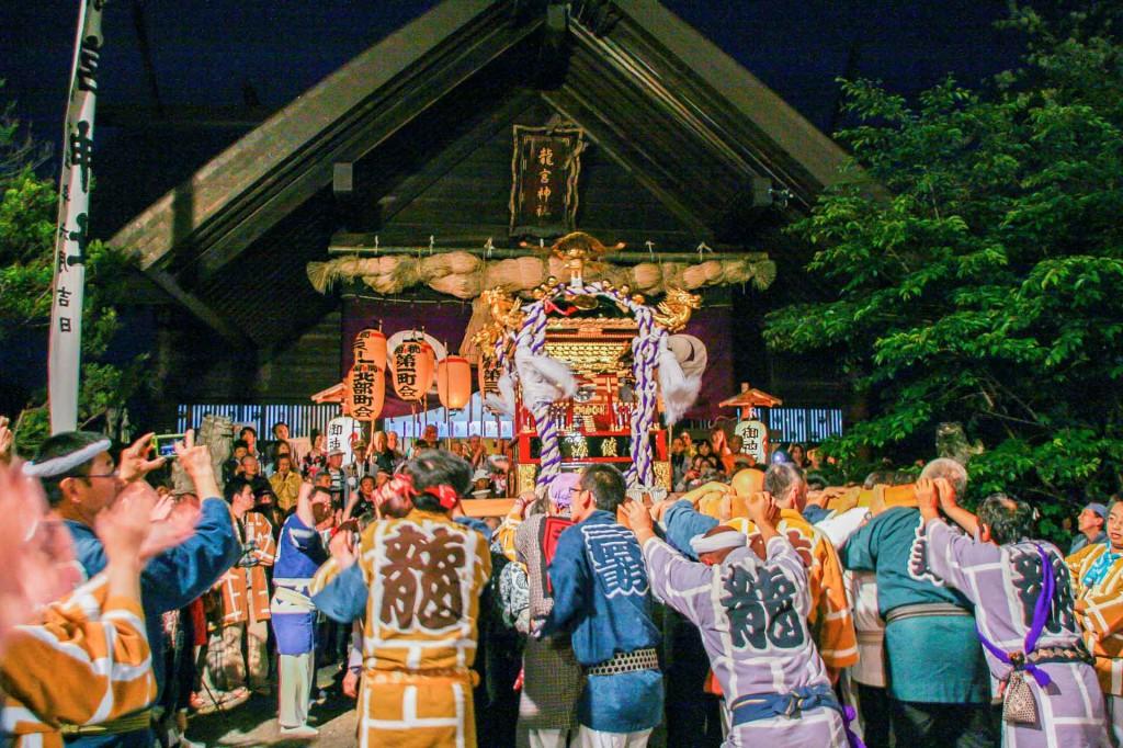 龍宮神社例大祭神輿